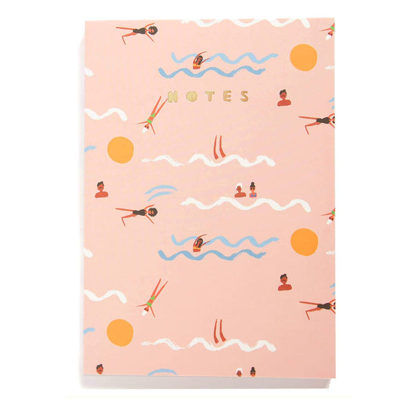 Swimmers Notepad by Carolyn Suzuki - COMMON DEAR