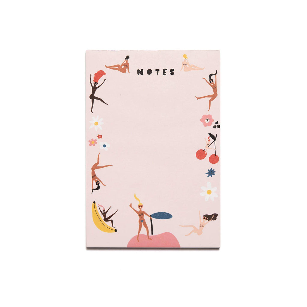 Fruity Nudies Notepad by Carolyn Suzuki - COMMON DEAR