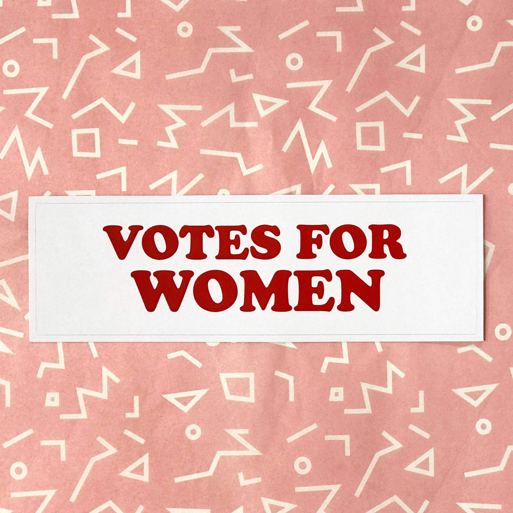 Votes For Women Sticker by The F Word Gift Shop - COMMON DEAR