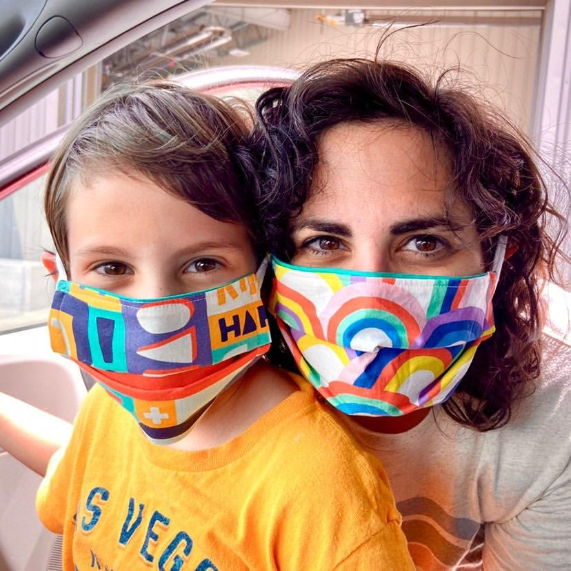 Made To Order - Children's Pleated Premium Cotton Face Mask by Common Dear - COMMON DEAR