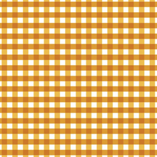 Load image into Gallery viewer, Made To Order - Plaid in Golden Cotton Face Mask - Common Dear