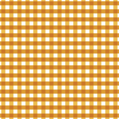 Made To Order - Plaid in Golden Cotton Face Mask - Common Dear