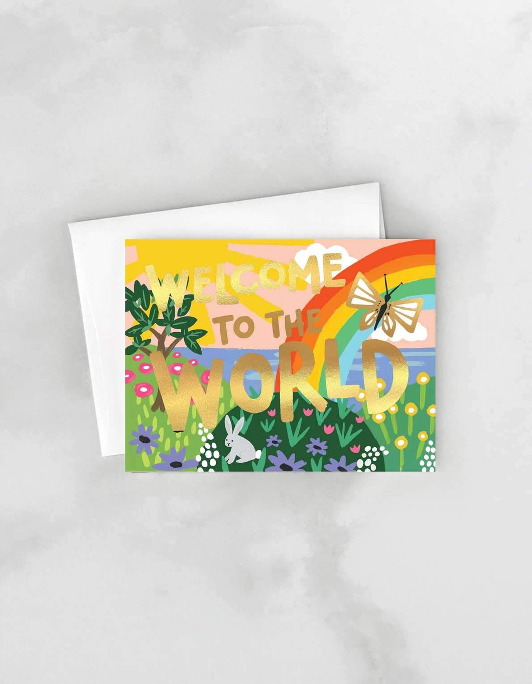 Welcome To The World Greeting Card by Idlewild - COMMON DEAR