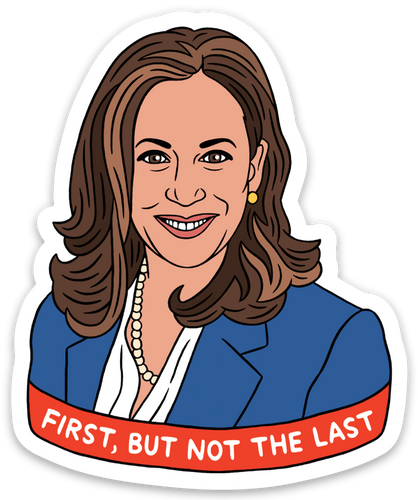 Kamala Harris Sticker by The Found - COMMON DEAR