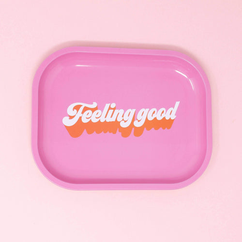 Feeling Good Mini Metal Tray - Common Dear