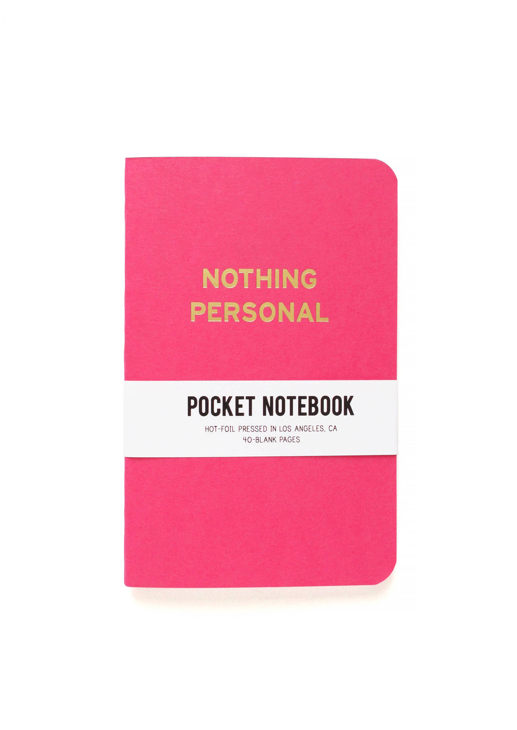 Nothing Personal Pocket Notebook - Common Dear