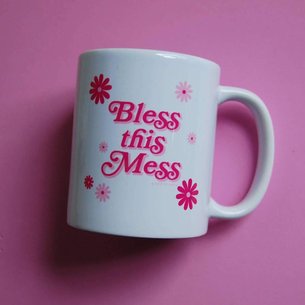 Bless this Mess Mug by A Shop of Things - COMMON DEAR
