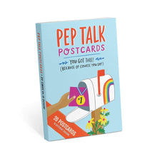 Load image into Gallery viewer, Pep Talk Postcard Book - Common Dear