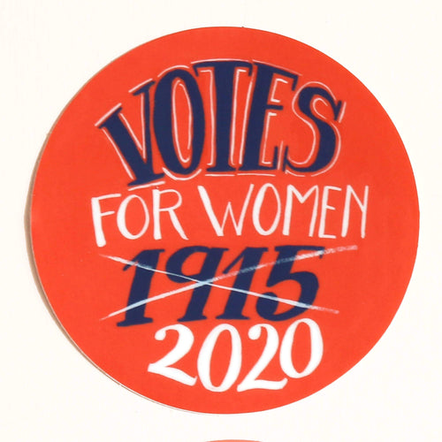 Votes for Women Sticker - Common Dear