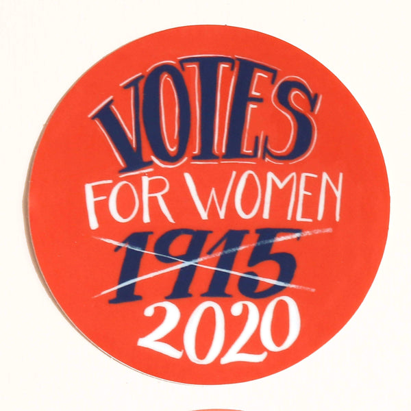 Votes for Women Sticker by Hemlock - COMMON DEAR