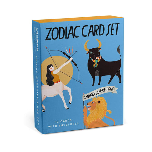 Zodiac Greeting Cards, Box of 12 Assorted by Emily McDowell & Friends - COMMON DEAR
