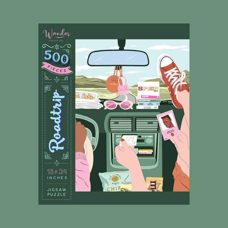 Roadtrip Jigsaw Puzzle by Wander Puzzle Co. - COMMON DEAR