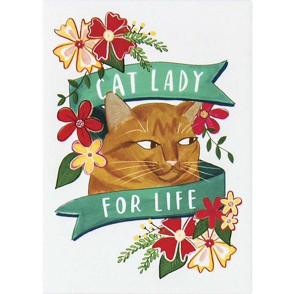 Cat Lady Magnet by Emily McDowell & Friends - COMMON DEAR