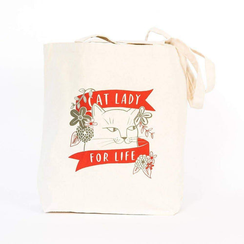 Cat Lady Tote Bag by Emily McDowell & Friends - COMMON DEAR