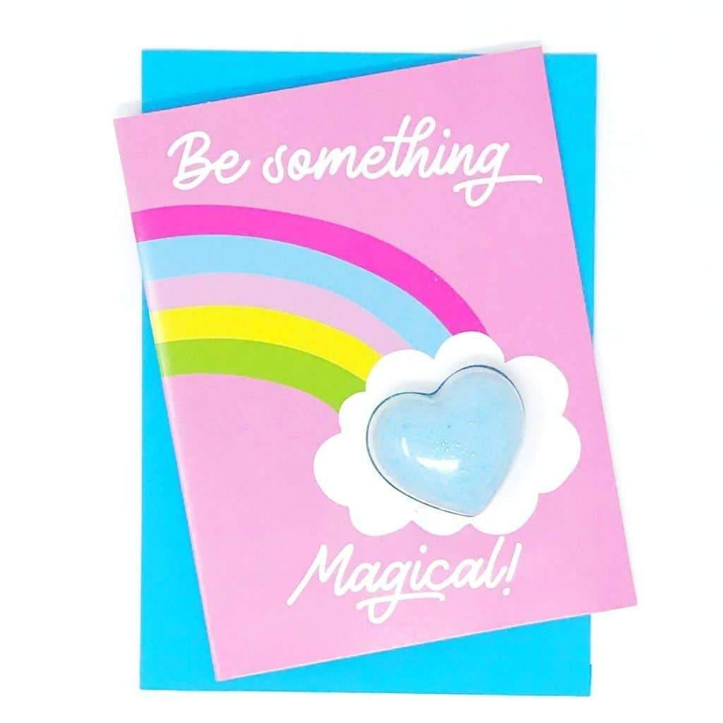 Be Something Magical Bath Bomb Card - Common Dear