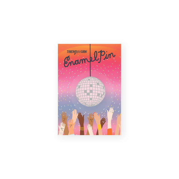 Disco Ball Enamel Pin by Talking Out of Turn - COMMON DEAR