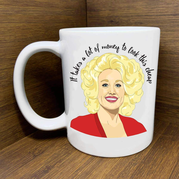 Dolly Parton Mug by Citizen Ruth - COMMON DEAR