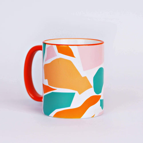 Cut Out Shapes Mug - Common Dear