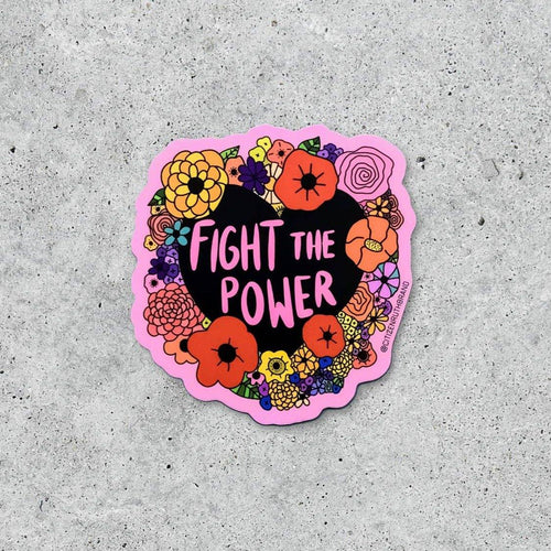 Fight the Power Sticker - Common Dear