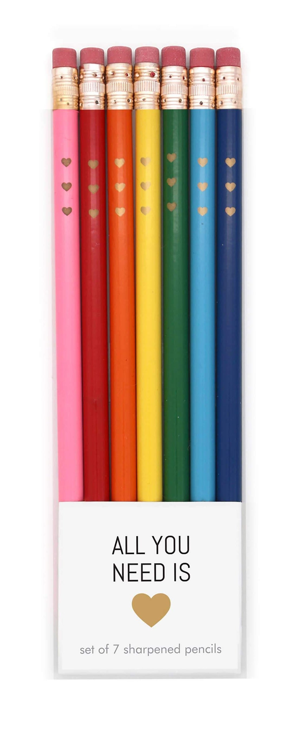 All You Need Is Love Pencil Set - Common Dear