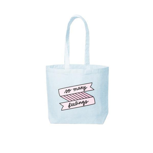 So Many Feelings Tote Bag by Talking Out of Turn - COMMON DEAR