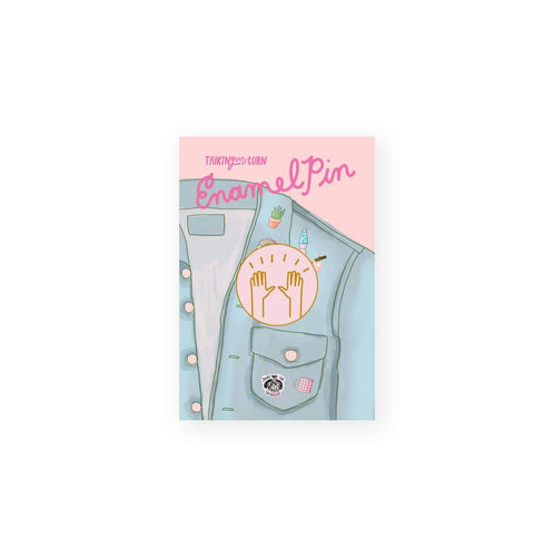 Raised Hands Enamel Pin - Common Dear