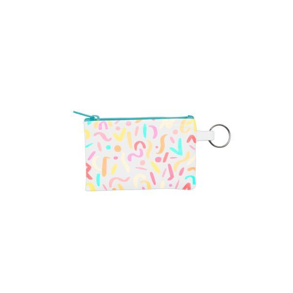 Party Animal Key Ring Pouch by Talking Out of Turn - COMMON DEAR