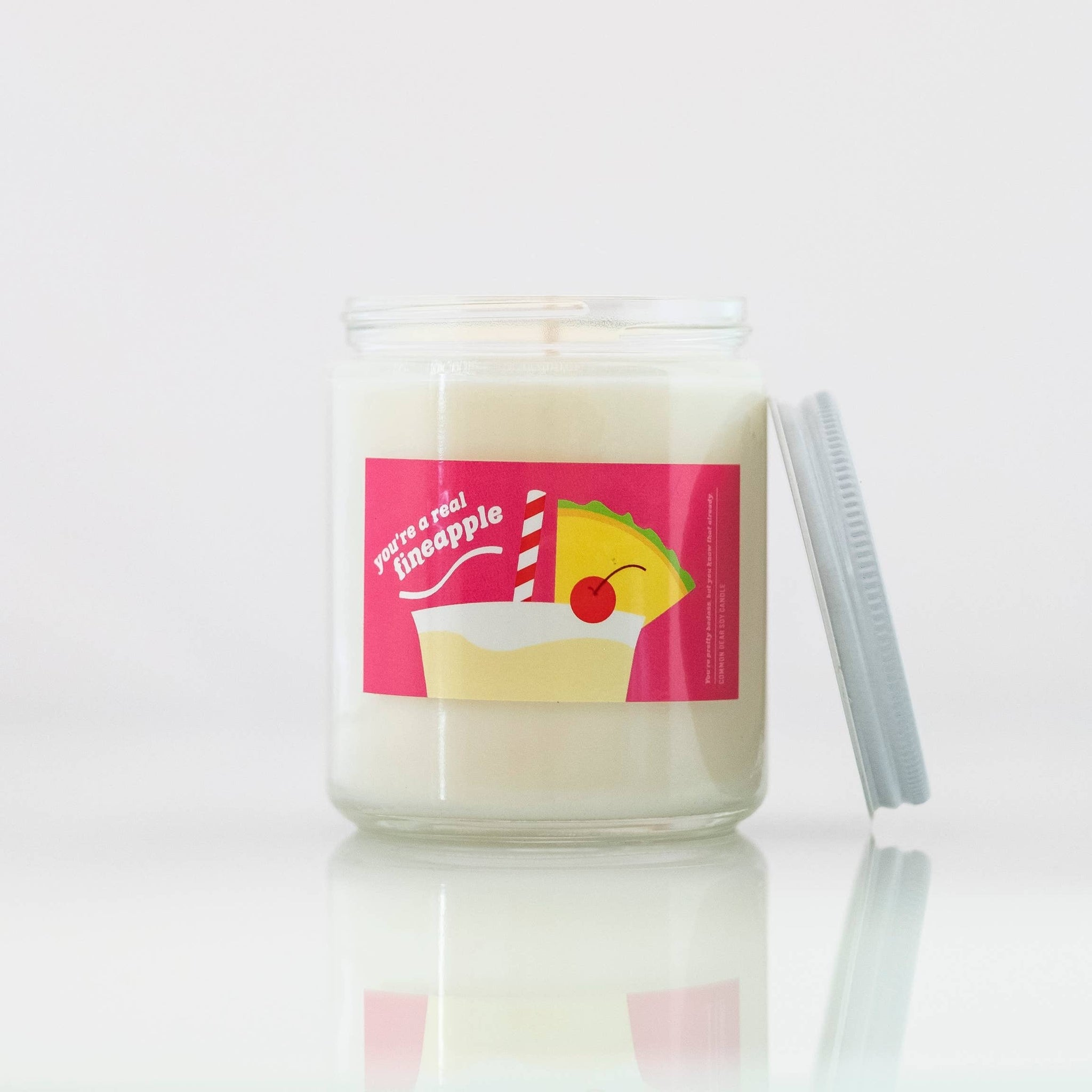 You're A Fineapple Soy Candle by Common Dear - COMMON DEAR