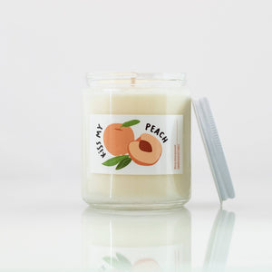 Kiss My Peach Soy Candle by Common Dear - COMMON DEAR