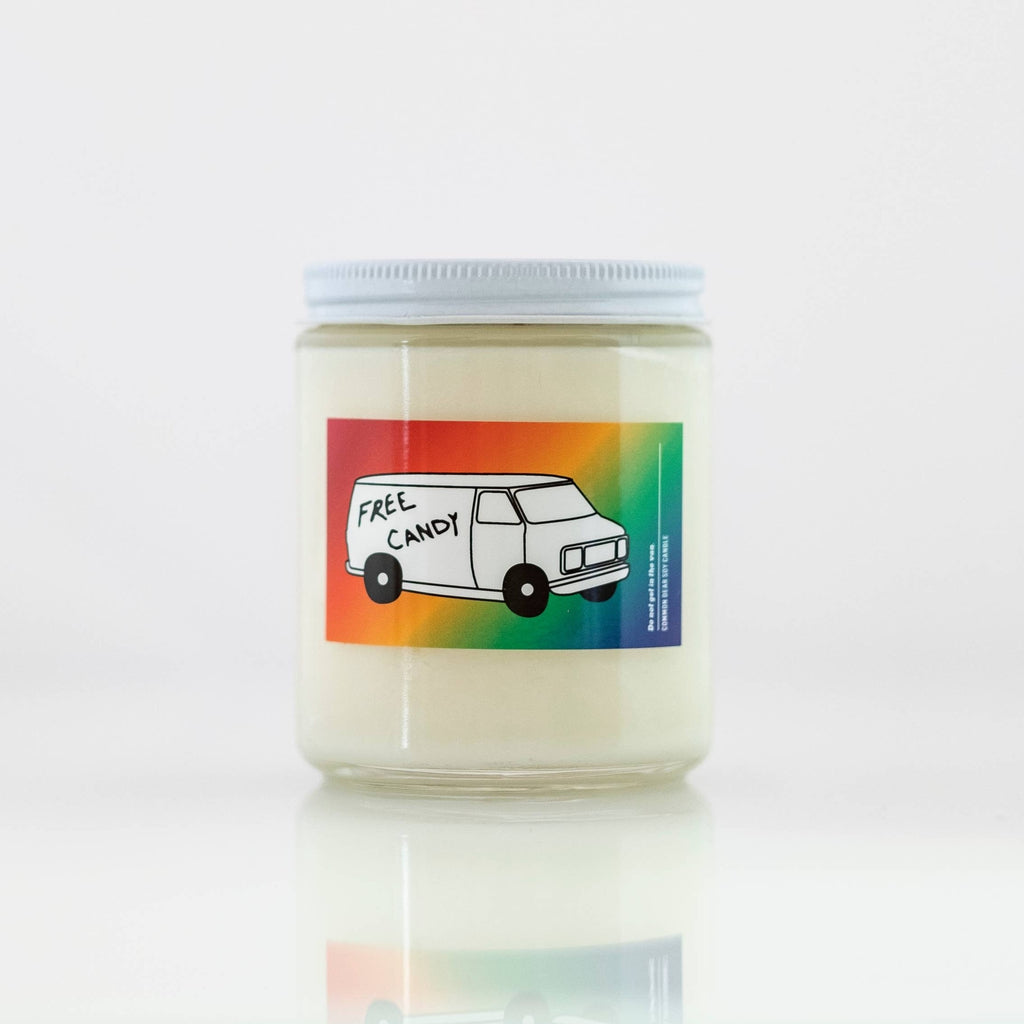 Free Candy Soy Candle by Common Dear - COMMON DEAR