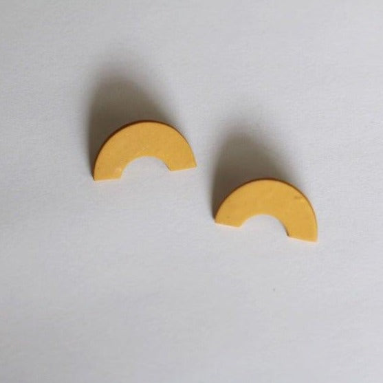 Marigold Arch Stud Earrings by Midwest Maven - COMMON DEAR