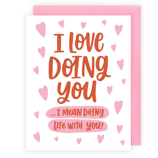 Love Doing You Greeting Card by Offbeat Paper Co. - COMMON DEAR