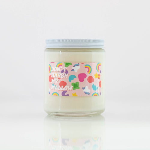 Don't Harsh My Mallow Soy Candle - Common Dear