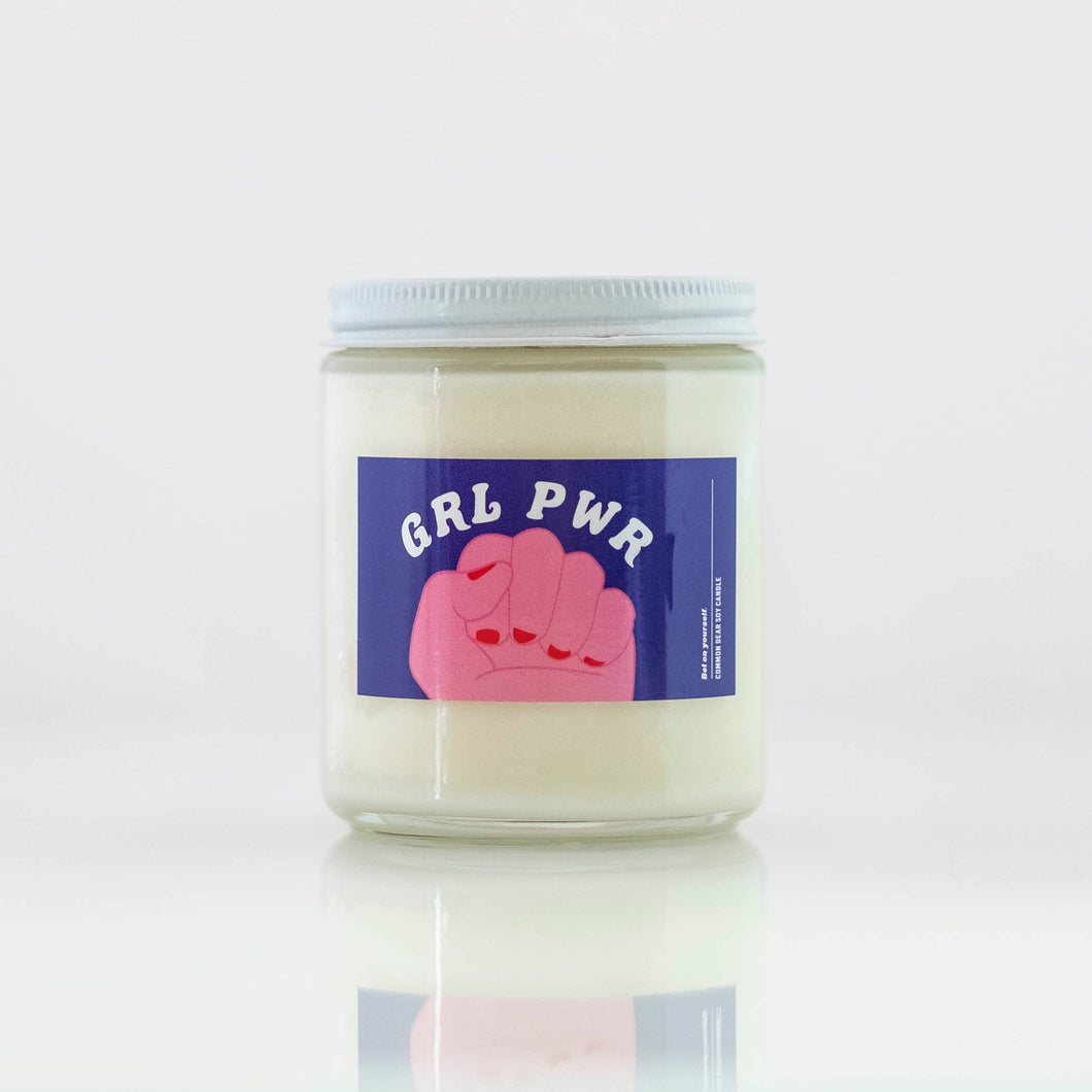 Grl Pwr Soy Candle - Common Dear