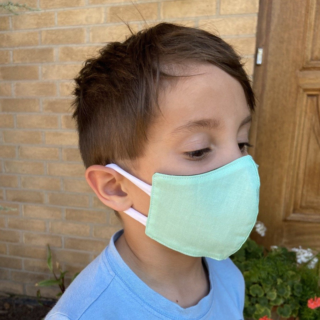 Made To Order - Children's Contour Premium Cotton Face Mask by Common Dear - COMMON DEAR