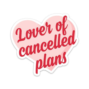 Lover Of Cancelled Plans Sticker by FUN CLUB - COMMON DEAR