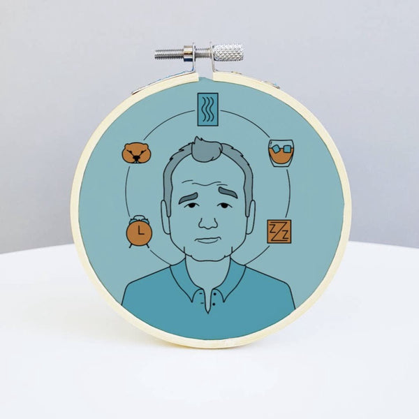 Bill Murray Embroidery Kit by Holly Oddly - COMMON DEAR