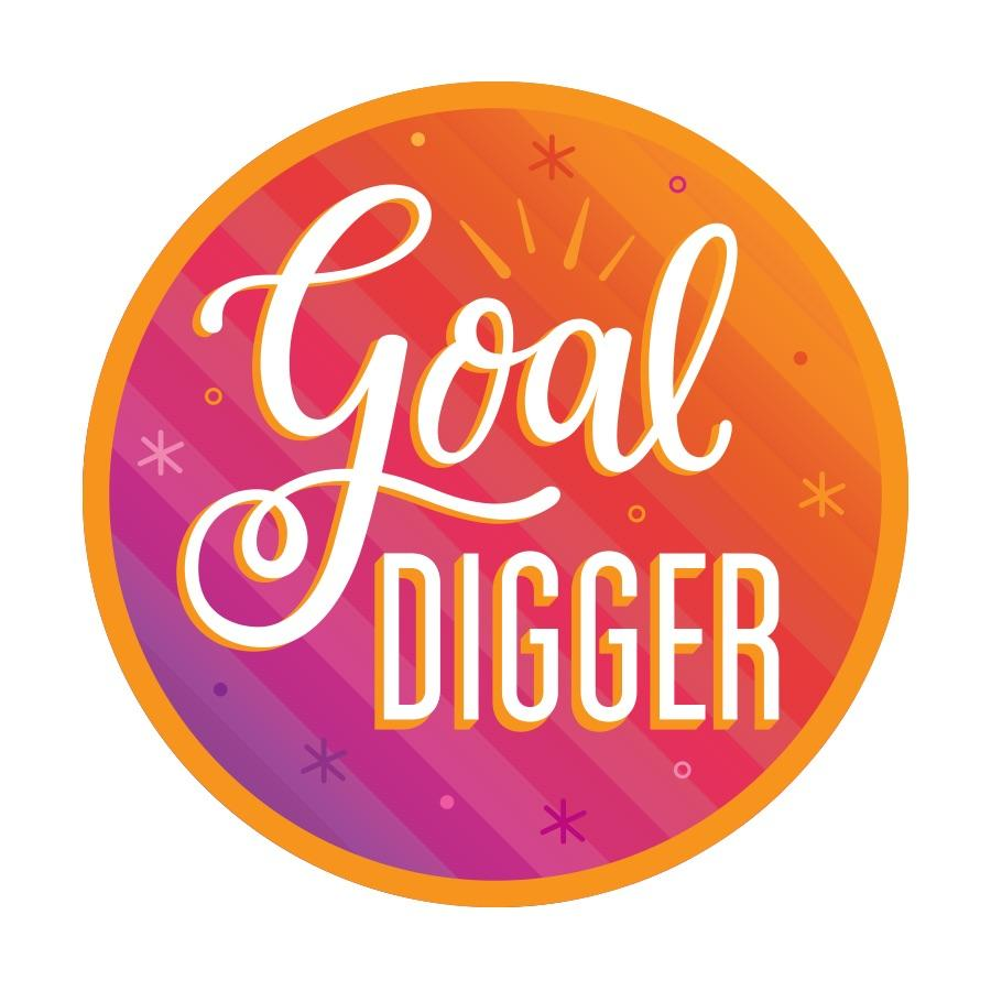 Goal Digger Sticker by Aditi Designs - COMMON DEAR