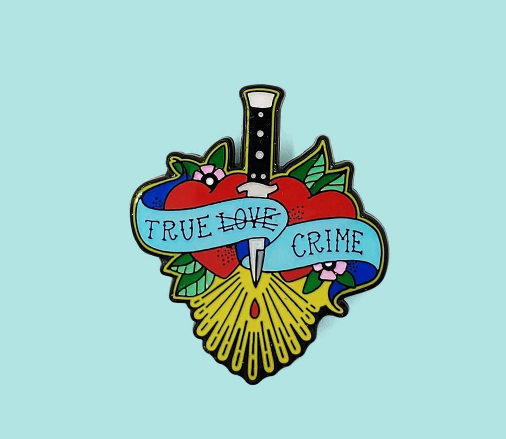 True Crime Enamel Pin by Holly Oddly - COMMON DEAR