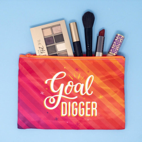 Goal Digger Pouch by Aditi Designs - COMMON DEAR