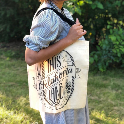 This Land Oklahoma Tote - Common Dear