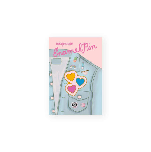 Hearts Enamel Pin - Common Dear