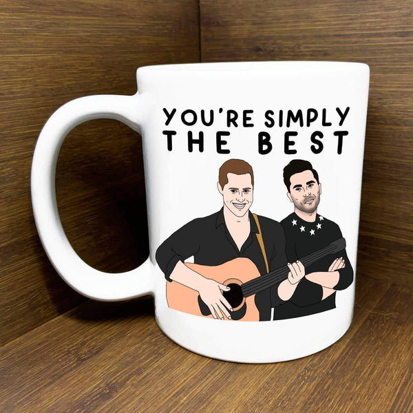 Simply the Best Schitt's Creek Mug by Citizen Ruth - COMMON DEAR