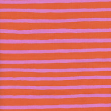 Load image into Gallery viewer, Made To Order - Pink and Orange Stripes Cotton Face Mask - Common Dear