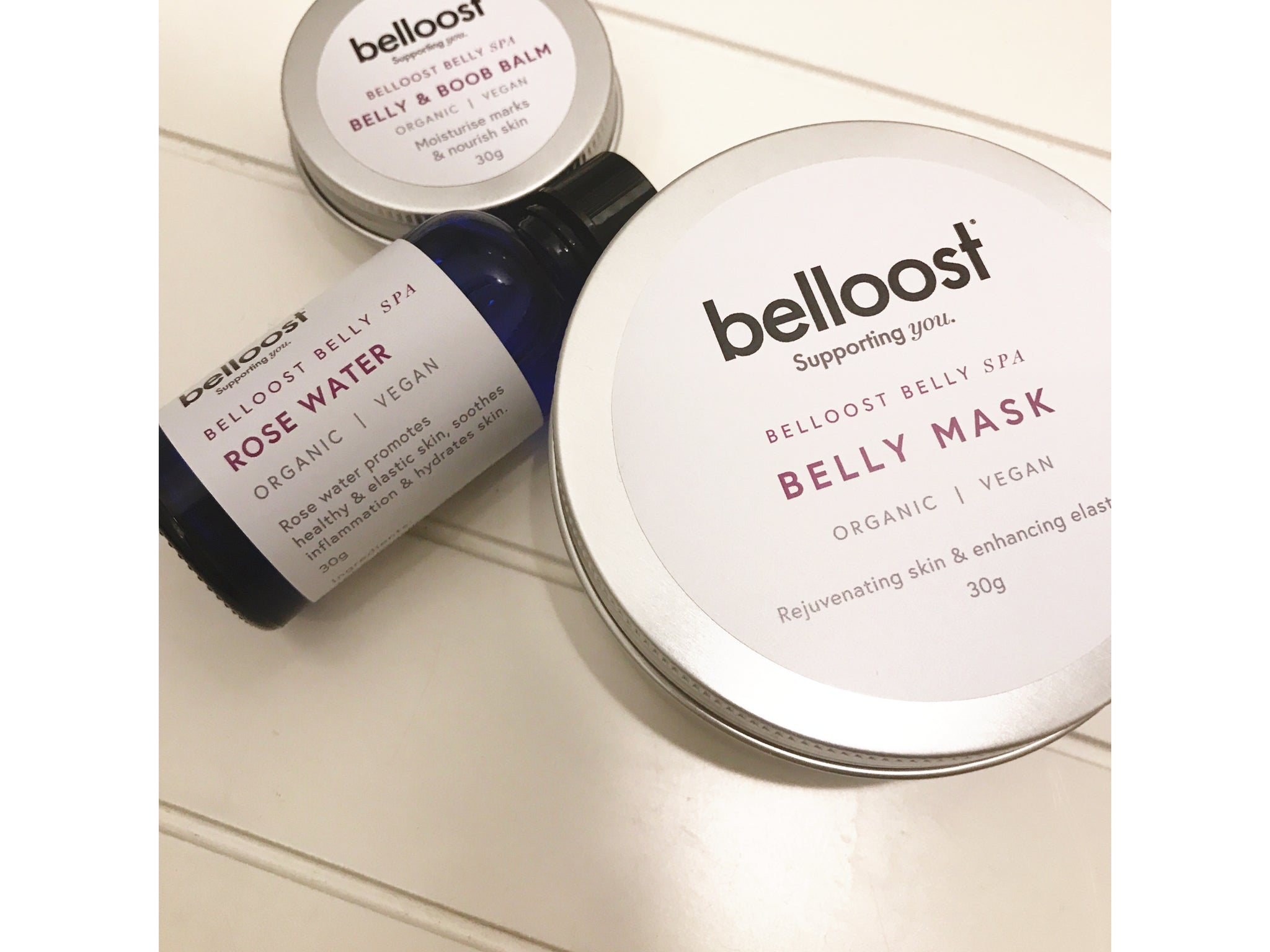 Belloost® Belly Spa Kit
