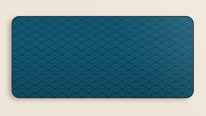 GMK Masterpiece Wave Deskmat (Group Buy)