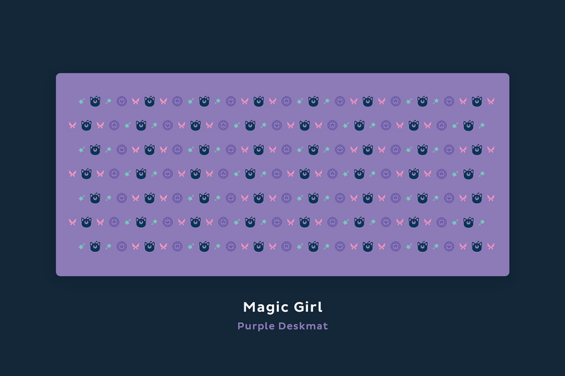 Magic Girl Deskmats (Group Buy)
