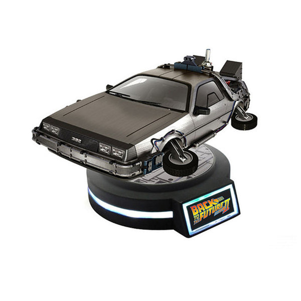 Back To The Future 2 - Magnetic Levitation Delorean ( Second Edition ) - Ratio 1/20 PVC Model