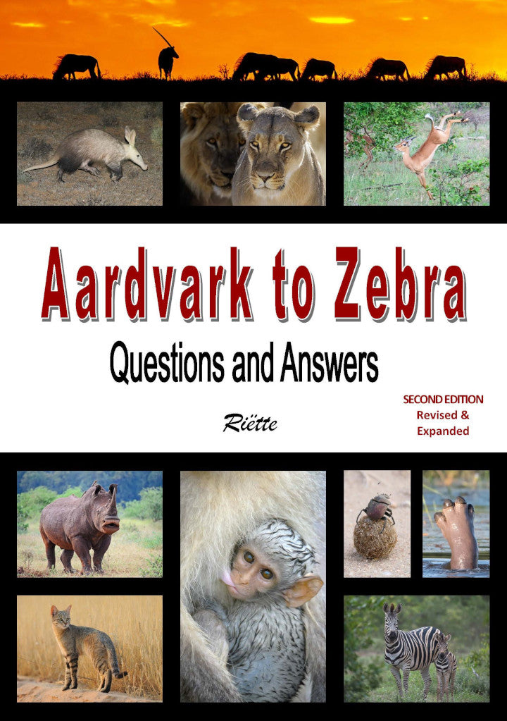 AARDVARK TO ZEBRA, questions and answers