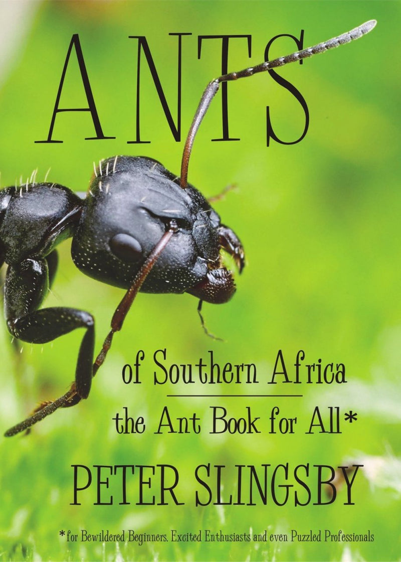 ANTS OF SOUTHERN AFRICA, the ant book for all